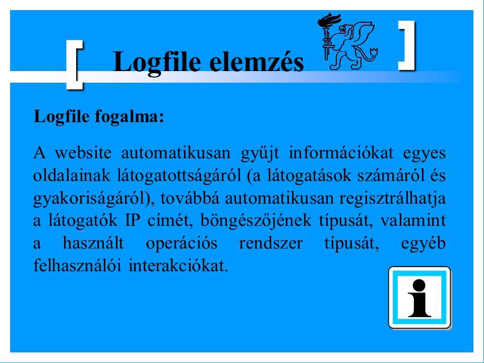 [ Logfile elemzés Logfile fogalma: